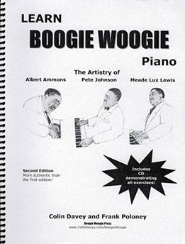 Colin Davey, Frank Poloney - Learn Boogie Woogie Piano