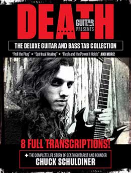 Death - The Deluxe Guitar and Bass Tablature Collection