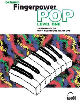 Fingerpower Pop Lev.1- 10 Piano Solos With Technique Warm Ups
