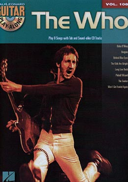 Guitar Play Along Vol. 108 - The Who