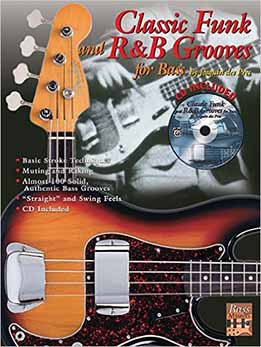 Classic Funk and R&B Grooves for Bass is an overview of stylistic examples that capture the essence of R&B recordings from Memphis, Muscle Shoals, Motown, and New York. All the music examples (98 total!) are written in standard notation and tablature, and all the examples are demonstrated on the enclosed recording (live, not sequenced). The CD is designed to take you beyond just playing the correct notes by providing the true feel of these great grooves.