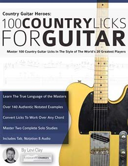 Levi Clay, Joseph Alexander - Country Guitar Heroes - 100 Country Licks For Guitar