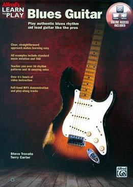 Steve Trovato, Terry Carter - Learn To Play Blues Guitar