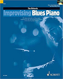 Tim Richards - Improvising Blues Piano