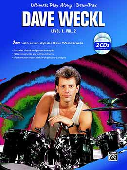 Dave Weckl - Ultimate Play Along - Level 1, Vol. 2