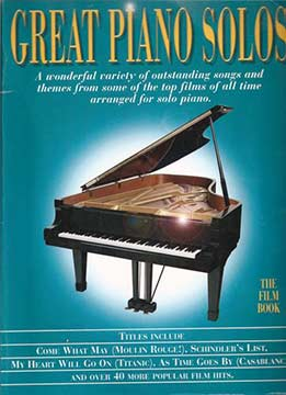 Great Piano Solos - The Film Book