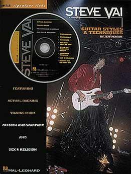 Steve Vai, Jeff Perin - Steve Vai. Guitar Styles & Techniques