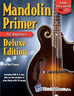 Bert Casey - Mandolin Primer Book For Beginners
