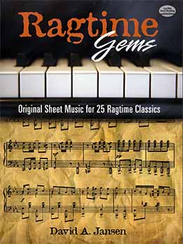 David Jasen - Ragtime Gems. Original Sheet Music For 25 Ragtime Classics