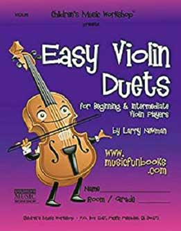 Easy Violin Duets For Beginning And Intermediate Violin Players