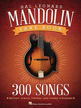 Mandolin Fake Book - 300 Songs
