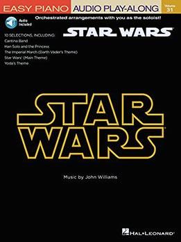 Star Wars - Easy Piano Play-Along Vol. 31