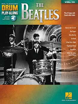 The Beatles - Drum Play-Along Vol.15