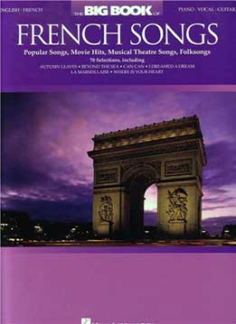 The Big Book Оf French Songs