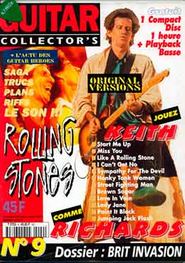 Guitar Collector's - Rolling Stones