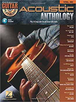 Guitar Play-Along Vol. 80 - Acoustic Anthology