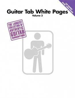 Guitar Tab White Pages, Vol. 3