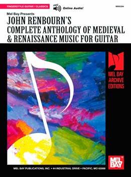 John Renbourn - Complete Anthology Of Medieval & Renaissance Music For Guitar