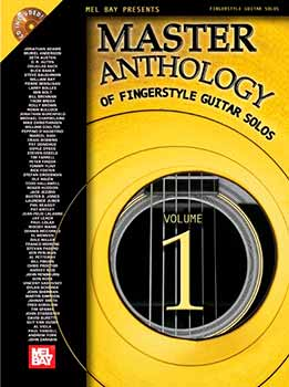Jonathan Adams - Master Anthology Of Fingerstyle Guitar Solos. Vol. 1