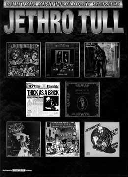 Kenn Chipkin, Danny Begelman - Jethro Tull - Guitar Anthology Series