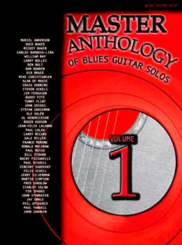 Muriel Anderson - Master Anthology Of Blues Guitar Solos