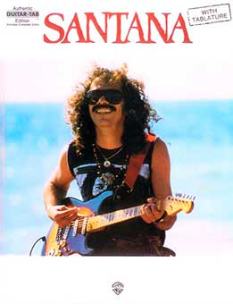 Santana - Authentic Guitar Tab Edition