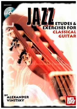 Alexander Vinitsky - Jazz Etudes & Exercises For Classical Guitar