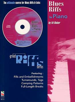Ed Baker - Blues Riffs For Piano