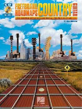 Fred Sokolow - Fretboard Roadmaps Country Guitar
