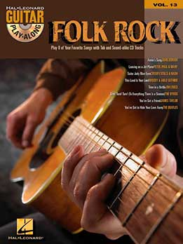 Guitar Play-Along Vol. 13 - Folk Rock