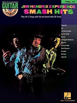 Guitar Play-Along Vol. 47 - Jimi Hendrix Experience - Smash Hits