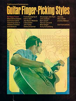 Happy Traum – Traditional And Contemporary Guitar Finger-Picking Styles