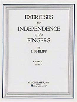 Isidor Philipp - Exercises For Independence Of The Fingers. Part I&II