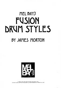 James Morton - Fusion Drum Styles