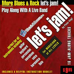 Peter Vogl - Let's Jam! - More Blues And Rock