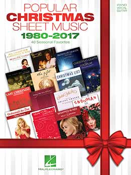Popular Christmas Sheet Music - 1980-2017