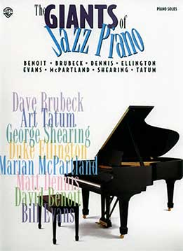 The Giants Of Jazz Piano - Piano Solos