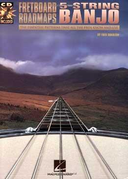 Fred Sokolow - Fretboard Roadmaps - 5-string Banjo