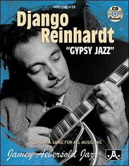 Jamey Aebersold - Django Reinhardt - Gypsy Jazz, Vol. 128