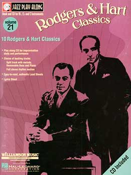 Jazz Play-Along Vol. 21 - Rodgers & Hart Classics