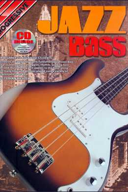 Stephan Richter - Progressive Jazz Bass For Beginner To Advanced Students