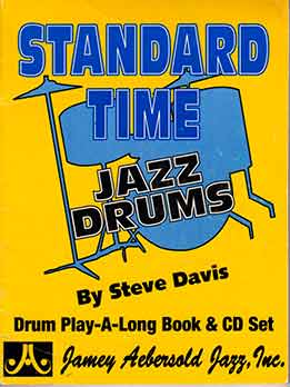 Steve Davis - Standard Time. Jazz Drums - Drum Play-Along