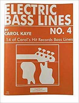 Carol Kaye - Electric Bass Lines No. 4