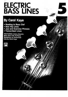 Carol Kaye - Electric Bass Lines No. 5