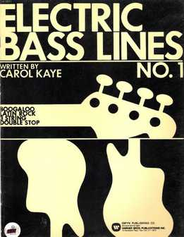 Carol Kaye - Electric Bass Lines No.1