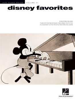 Disney Favorites - Jazz Piano Solos Series Vol. 51