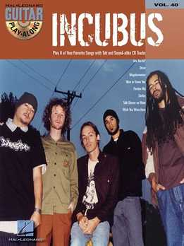 Guitar Play-Along Vol. 40 - Incubus