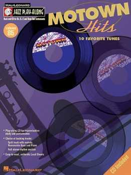 Jazz Play-Along Vol. 85 - Motown Hits