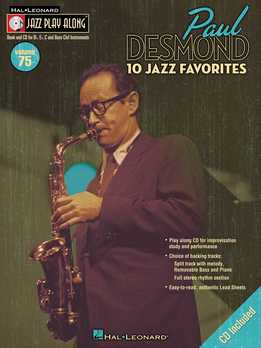 Jazz Play-Along Vol. 75 – Paul Desmond