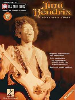 Jazz Play-Along Vol. 80 - Jimi Hendrix